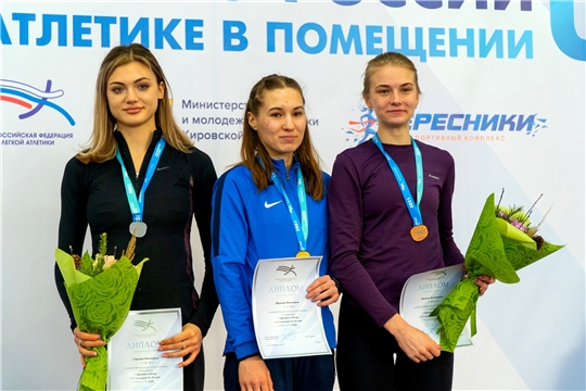 Легкоатлетка Виктория Жилина выиграла «золото» юниорского первенства России