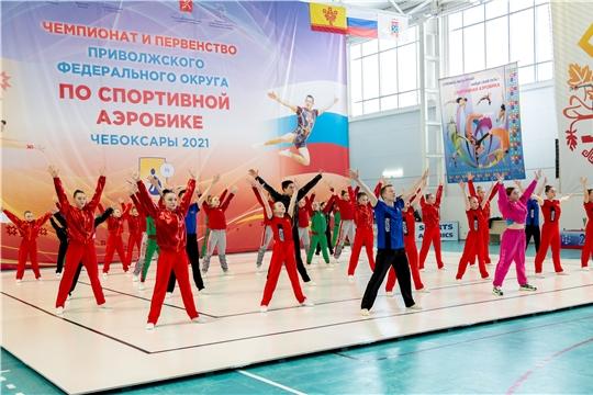 Чемпионат и первенство ПФО по спортивной аэробике
