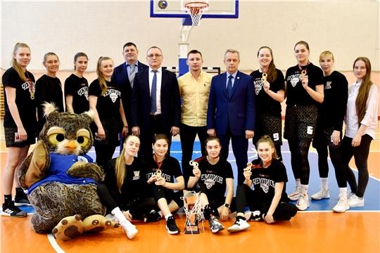 Волевая победа: женская баскетбольная команда «ЧГУ - Атланта» - чемпион Студенческой лиги РЖД
