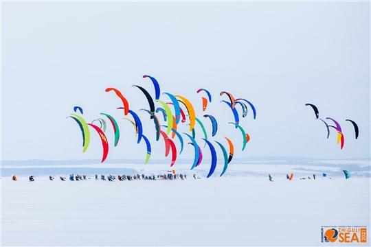 Международные соревнования «Марафон «Жигулевское море-2021» по зимним дисциплинам парусного спорта