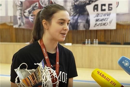 Женская баскетбольная команда ЧГУ стала чемпионом элитного дивизиона студенческой лиги РЖД