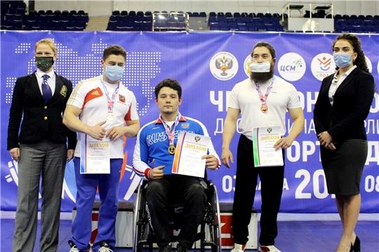 Дмитрий Степанов выиграл чемпионат России по пауэрлифтингу среди спортсменов с ПОДА