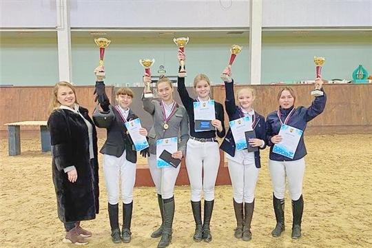 В Новочебоксарске прошли соревнования по конному спорту