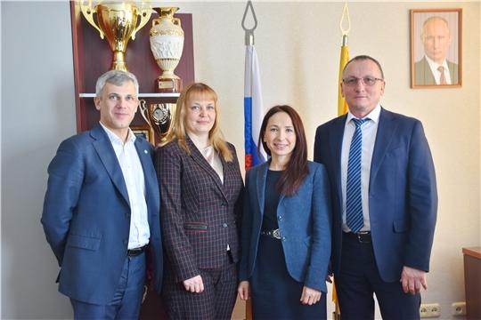 В Минспорте Чувашии обсудили перспективы расширения сотрудничества  со Сбербанком