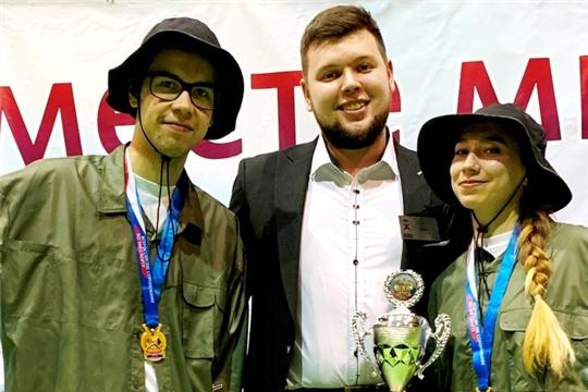 Сборная Чувашии по чир спорту вернулась с медалями Всероссийских соревнований