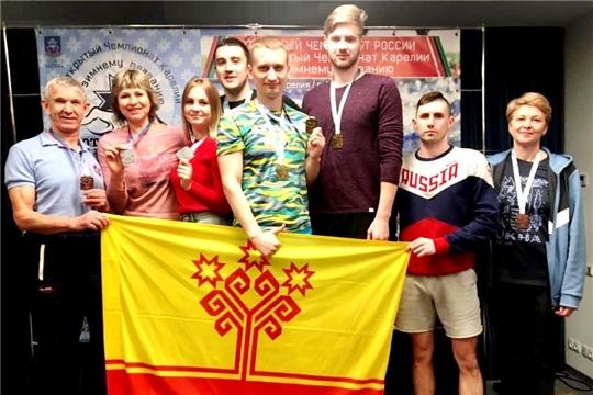 Сборная Чувашии по зимнему плаванию достойно выступила на чемпионате России в Петрозаводске