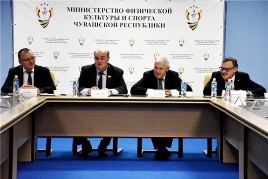 Состоялось первое заседание Попечительского совета возрожденной в конце прошлого года Федерации волейбола Чувашии