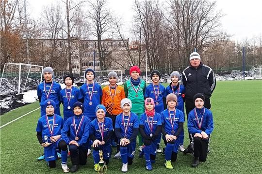 Игроки футбольной команды «Химик-Август» – призёры престижного детского турнира «Весенний Петербург»