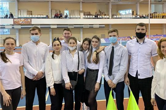В Чебоксарском училище олимпийского резерва им.В.М.Краснова появился центр спортивного волонтёрства