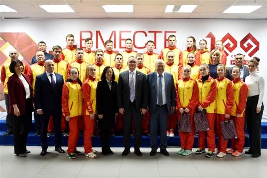 Волейбольные команды Чувашии выступят на соревнованиях окружного этапа V летней Спартакиады молодежи России