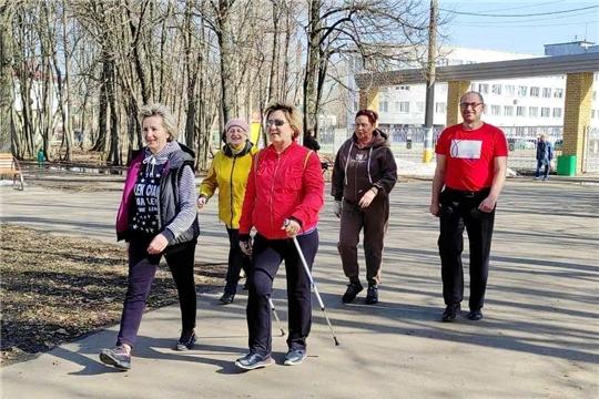 В Канаше стартовал марафон «76 км Победы»