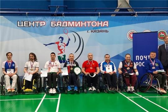 Бадминтонисты Чувашии собрали урожай медалей на первом этапе Кубка России по спорту лиц с ПОДА
