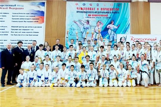 Чемпионат и первенство Приволжского федерального округа по киокусинкай