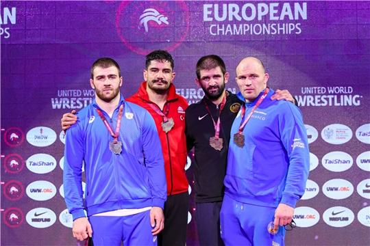 Сергей Козырев – серебряный призер чемпионата Европы по спортивной борьбе