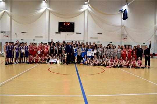 Финал регионального этапа чемпионата Школьной баскетбольной лиги «КЭС-Баскет»