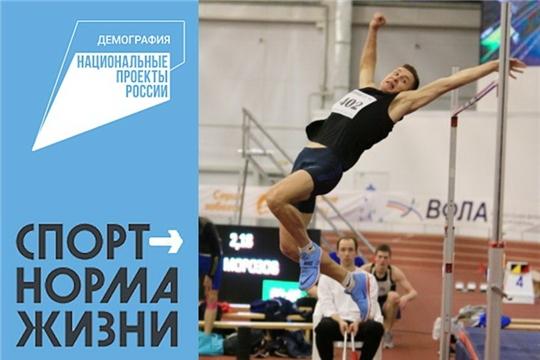 В легкоатлетическом манеже СШОР №1 им. В. Егоровой в этом году появится новый сектор для прыжков в высоту