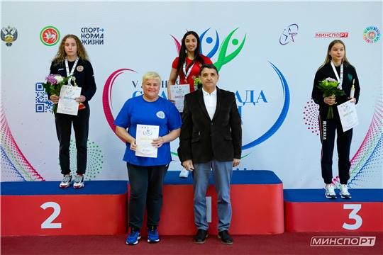 Сборная Чувашии по вольной борьбе достойно выступила на окружном этапе Спартакиады молодежи России
