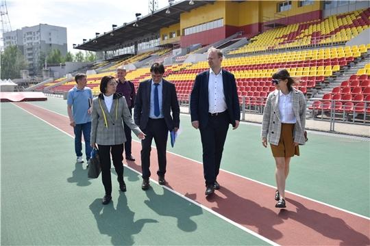 Столица Чувашии готовится к проведению всероссийских соревнований по лёгкой атлетике