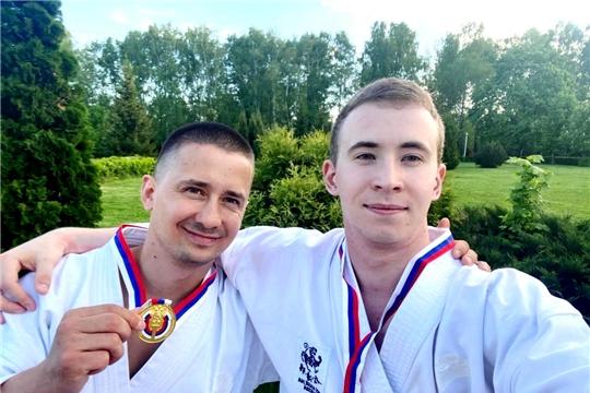 Сергей Сергеев и Данила Германов – победители Кубка России по всестилевому каратэ