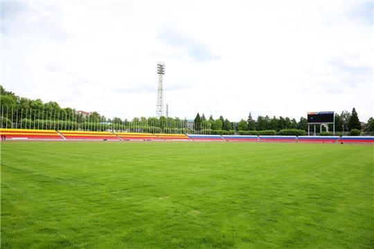Объявлен аукцион на «прошивку» футбольного поля на стадионе «Олимпийский» в Чебоксарах