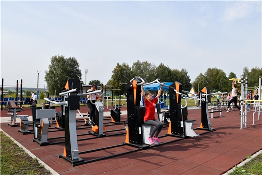 Две новые площадки ГТО по федеральному проекту «Спорт – норма жизни» появятся в Чувашии в 2021 году