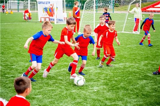 Детский фестиваль «Футбольная лига дошколят»
