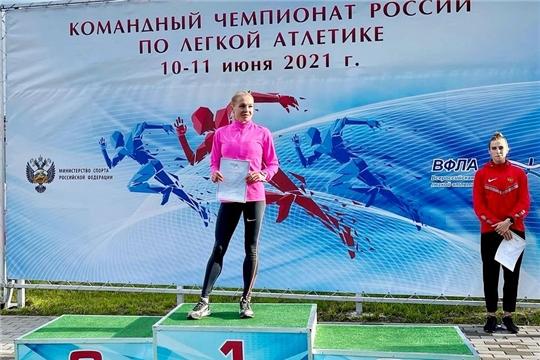 Екатерина Ишова – победитель в беге на 5000 м в рамках командного чемпионата России