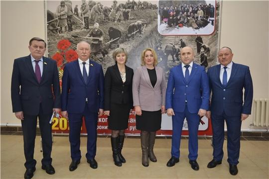 Надежда Колебанова приняла участие в совещании по подведению итогов социального-экономического развития Яльчикского района за 2020 год