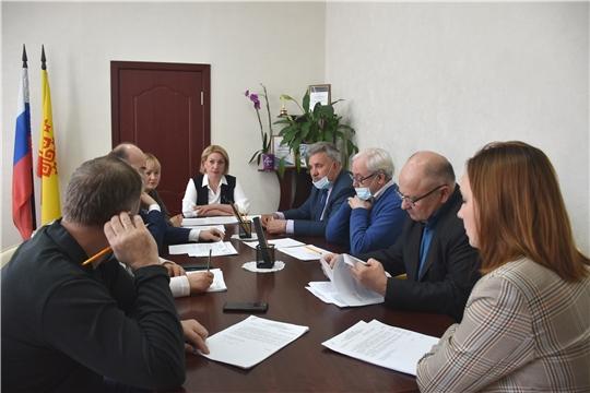 Заседание Общественного совета при Госслужбе Чувашии по конкурентной политике и тарифам