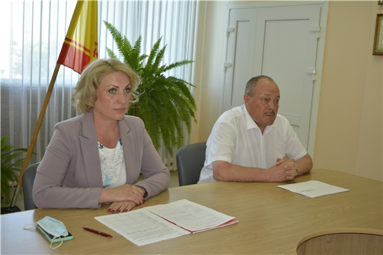 Рабочий выезд руководителя Госслужбы Надежда Колебановой в Комсомольский и Яльчикский районы