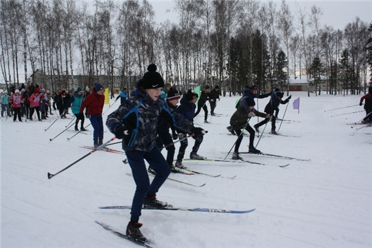 06 января 2021 г. в парке культуры и отдыха п. Урмары пройдут Рождественские лыжные гонки