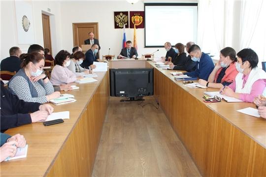 Второе внеочередное заседание заседание комиссии по чрезвычайным ситуациям и обеспечению пожарной безопасности Урмарского района