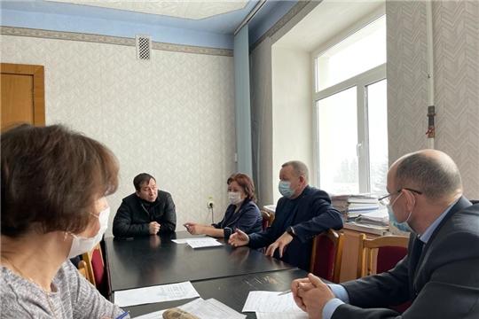 Заседание Совета по модернизации и технологическому развитию экономики Урмарского района