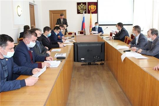 Состоялось шестое заседание Урмарского районного Собрания депутатов