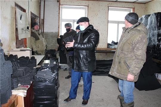 Д. Иванов ознакомился с хозяйственной деятельностью ИП «Данилова Е.Ю.»