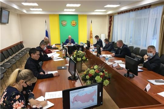 О проводимых мероприятиях по недопущению возникновения и распространения вируса АЧС на территории Чувашской Республики