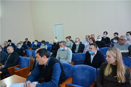 На совещании с главами поселений - широкий круг важных вопросов