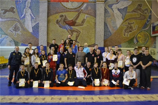 Юные борцы района - в числе победителей и призеров первенства Чувашии