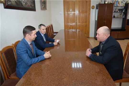 Вурнарский район с рабочим визитом посетил руководитель Госветслужбы Чувашии Константин Викторов