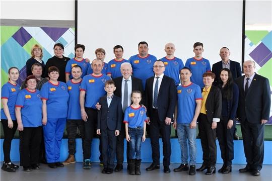 В Чувашии чествовали победителей и призеров Всероссийских зимних сельских спортивных игр