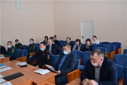 В Вурнарском районе обсуждены вопросы обеспечения противопаводковых мероприятий