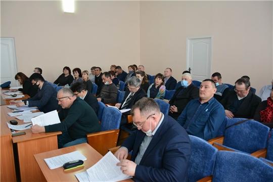 Состоялось 8-е заседание Вурнарского районного Собрания депутатов