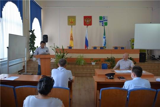 В администрации района обсудили вопросы в сфере строительства и ЖКХ