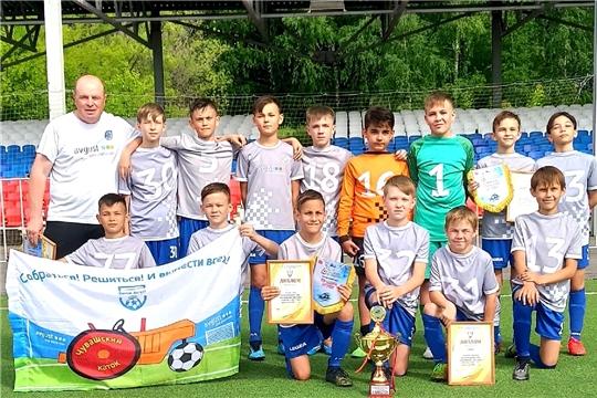 Футболисты «Химик-Августа-2009» - победители детского фестиваля «Локобол-2021 РЖД»