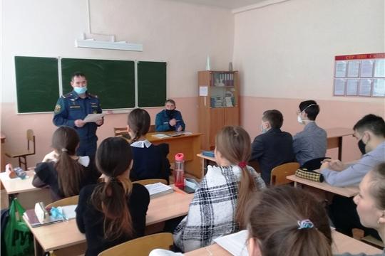 День профилактики пожаров в Большеяльчикском сельском поселении