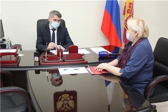 Олег Николаев провел прием граждан