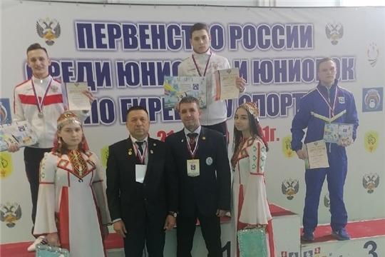 Яльчикский гиревик Анатолий Узюкин стал победителем первенства России