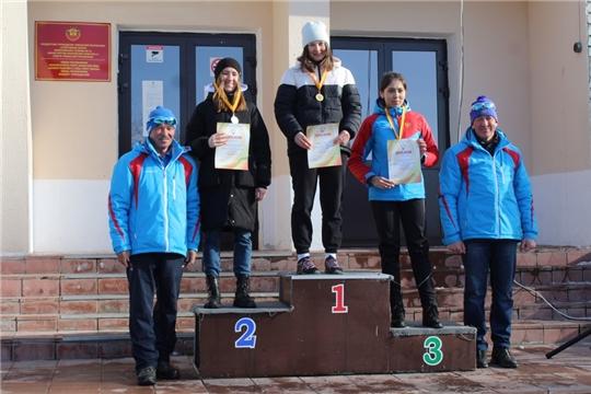 Ольга Головина - бронзовый призер чемпионата и первенства Чувашии по лыжным гонкам