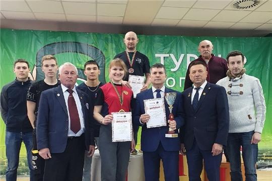 Очередные успехи яльчикских гиревиков на всероссийских соревнованиях