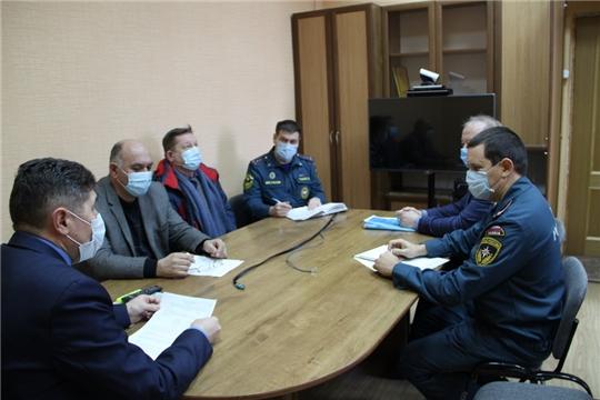 На заседании КЧС и ОПБ Цивильского района обсуждены меры по недопущению заноса и распространения африканской чумы свиней на территории Цивильского района